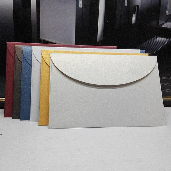 Comprar 10 Pcs Embalagem De Cartão De Convite De Papel Envelope De
