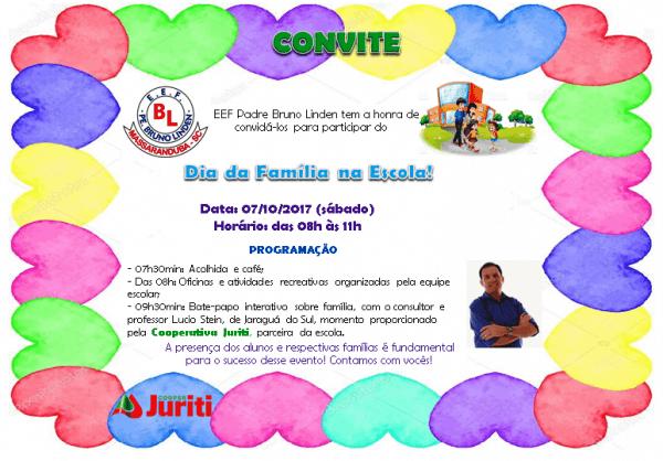 Eef Padre Bruno Linden  Convite