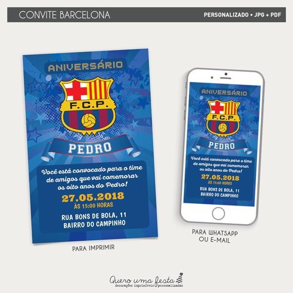 Convite Barcelona