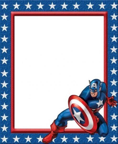 22 Convites Do Capitão América Que Vão Te Surpreender! – Modelos