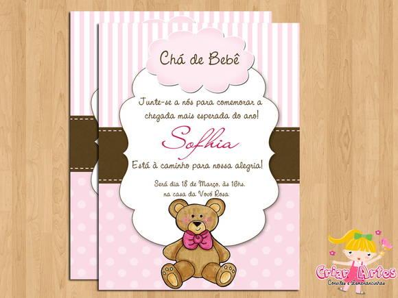 Baby Ursinho Rosa