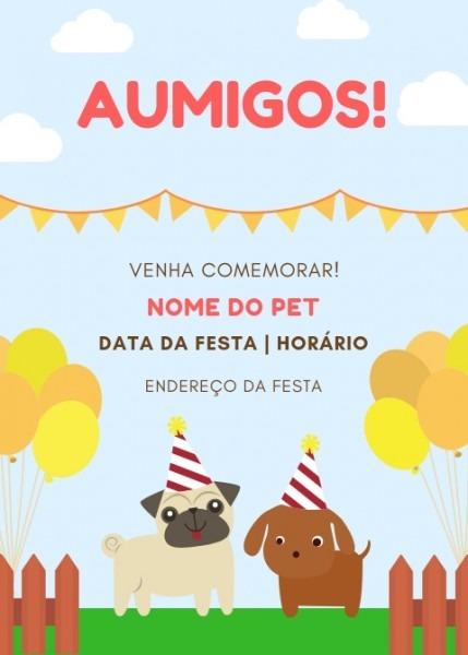 Aniversário Para Cachorro  Como Fazer Uma Festa Para Seu Fiel