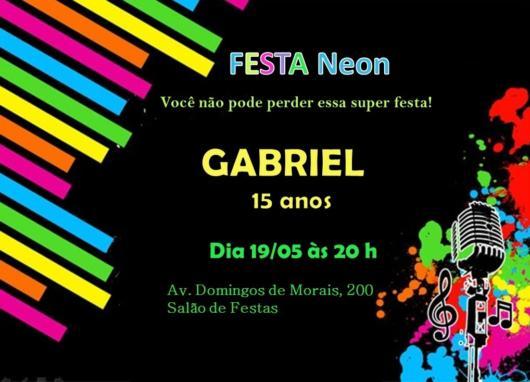 Convite Festa Neon – 40 Ideias P  Impressionar Os Convidados!