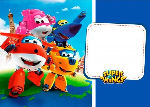Kit Festa Super Wings