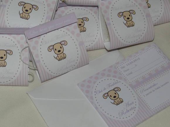 Convite + Lembrancinha Chá De Bebê No Elo7