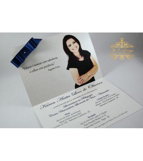Convite Para Formatura