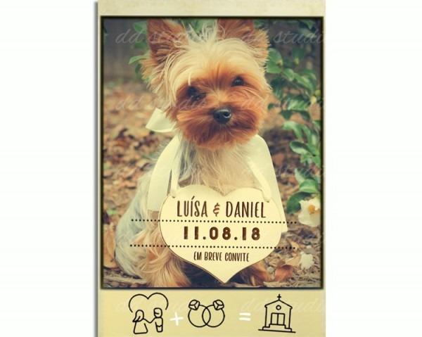 Convite Std 1 Digital Especial Cachorro Compre Agora Top