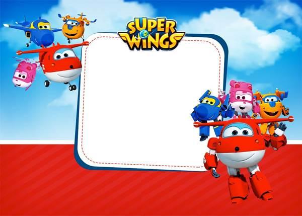 Convite Super Wings  28 Modelos Prontos Para Decolar! – Modelos De