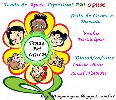 Tenda De Apoio Espiritual Pai Ogum