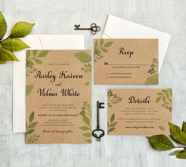 Convites De Casamento Com Rsvp Convites De Casamento Cartões De