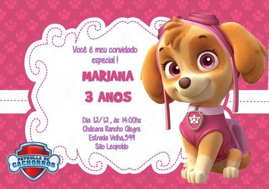 50 Convites Patrulha Canina Incríveis & Como Fazer Passo A Passo!