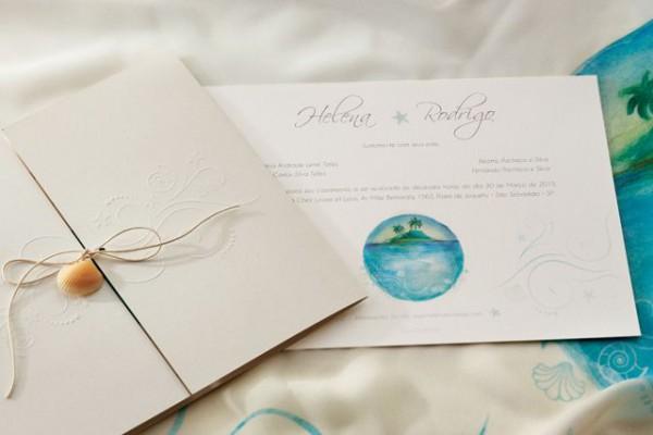 Os Convites De Casamento Em Aquarela Da Bia Coutinho Conviteria