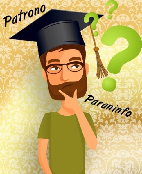 Paraninfo  Patrono  Qual A Diferença E Como Escolher
