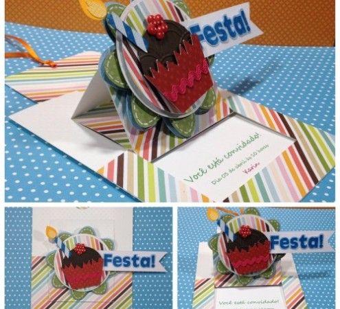 Free Cup Cake Birthday Easel Card Studio Cut File » Shape 10