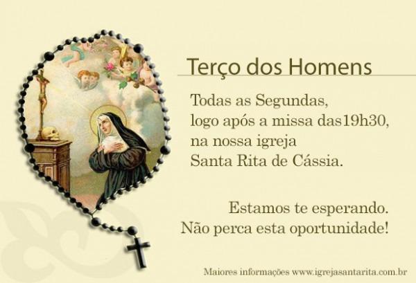 Terço Dos Homens – Igreja Santa Rita De Cássia