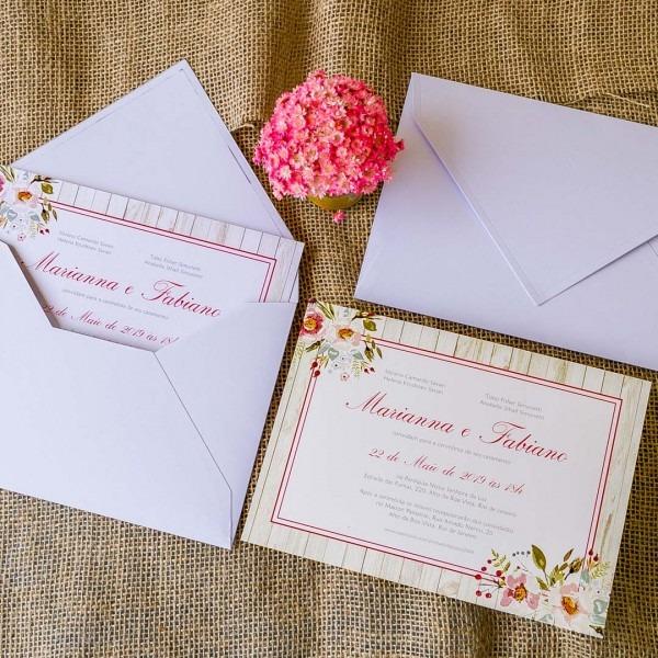 Como Montar Um Convite De Casamento Vitoria