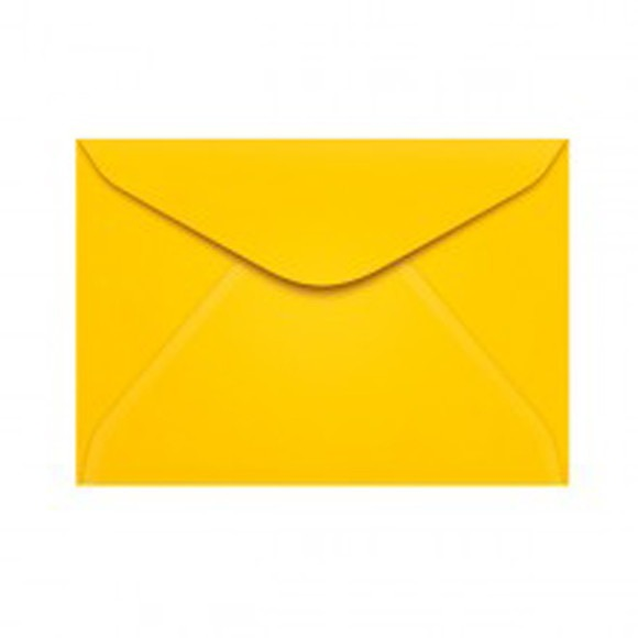 Envelope Amarelo 11x16 (10x14 Ou 10x15) No Elo7