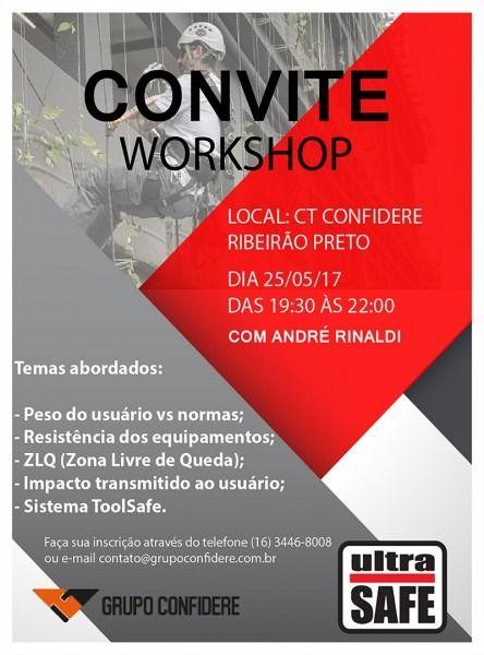Convite Para Workshop
