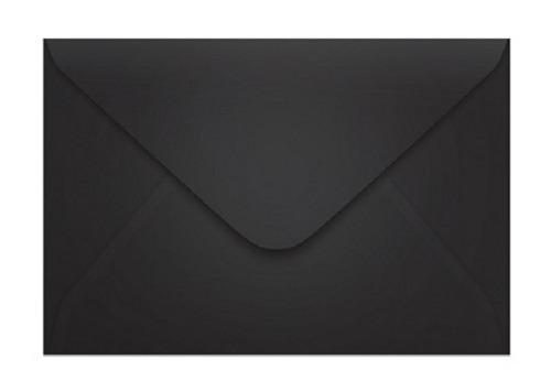Envelope Convite Plus Ipecol Preto 78x115 80g Pc C 100un