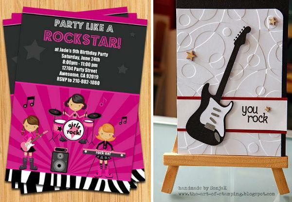 35 Ideias Para Fazer Uma Linda Festa Com Tema Rock!   ᐅ Mil Dicas