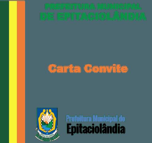 Carta Convite 01 2017 (assessoria Técnica Em Licitações)