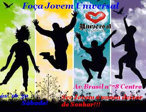 Força Jovem Mato Verde  Convite Da Força Jovem Universal