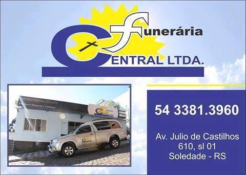 FunerÁria Central Informa Nota De Falecimento E Convite Para