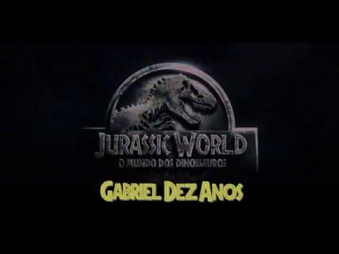 Modelo Convite Jurassic Word