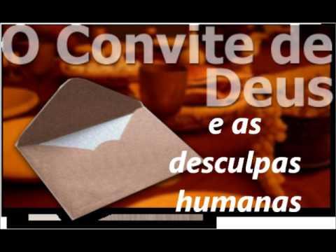 O Convite De Deus E As Desculpas Humanas Evangelista Roberto