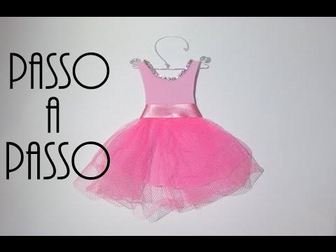 Faça Você Mesma Diy  Vestidinho De Princesa Bailarina