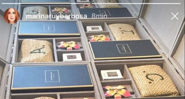 Marina Ruy Barbosa Mostra 'lembrancinhas' Para Os Padrinhos Do Seu