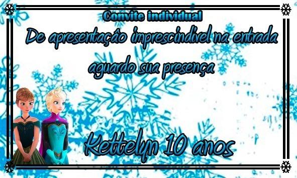 Kit 120 Convites Individual Temas Infantil