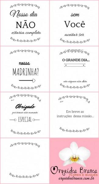 Ltimas De Convite Para Padrinhos Casamento Editavel Gratis Diy