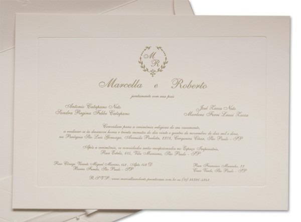 Convite De Casamento Veneza Com Brasão