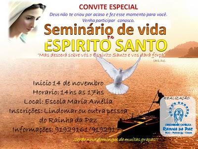 Rcc Maciço De Baturité  Seminário De Vida No Espírito Santo