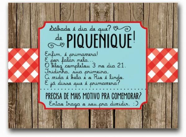 Convite Piquenique 28 09