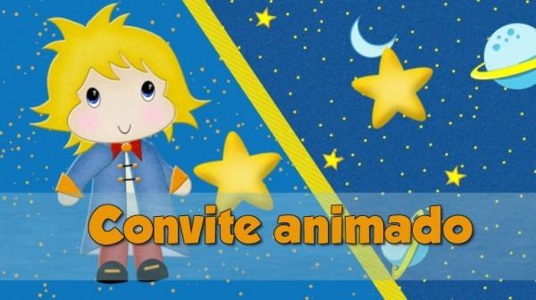 Projeto Proshow Pequeno Príncipe Convite