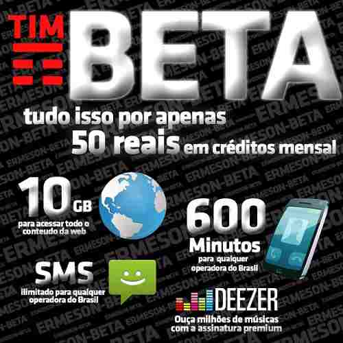 Convite Tim Beta Envio Pelo Facebook
