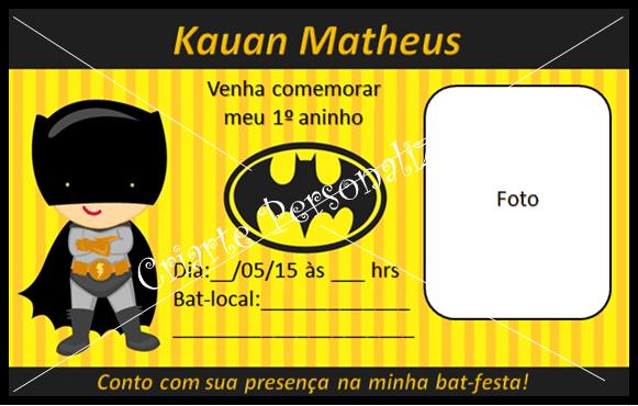 Criarte  Tema Batman