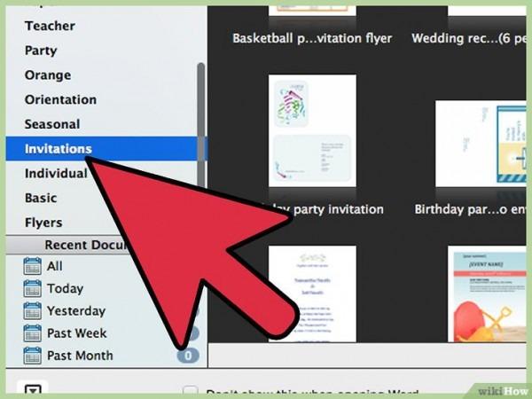 Como Criar Convites No Word  10 Passos (com Imagens)