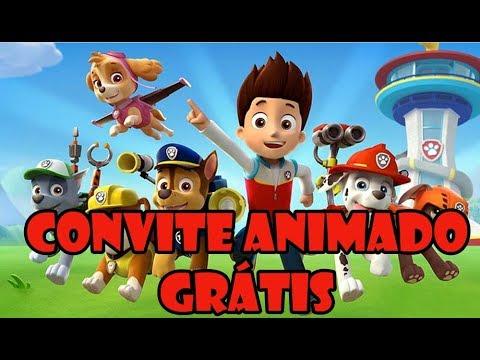 Convite Animado Virtual Grátis
