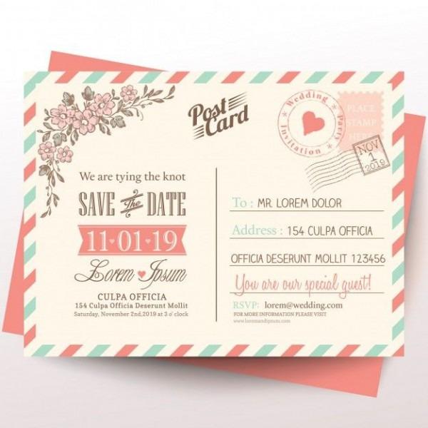 Cartão Do Vintage Fundo Do Convite Do Casamento In 2019