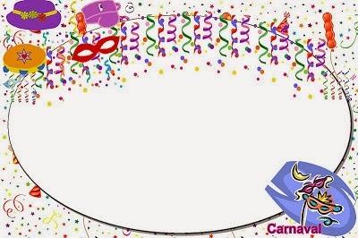 Baú Da Web  Convites De Carnaval Para Imprimir