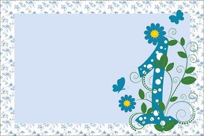 1 Ano Meninos Provençal Azul
