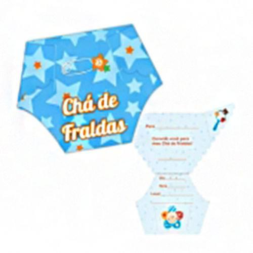 Convite Chá De Fraldas Fraldinha C 08 Nas Lojas Americanas Com