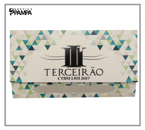 Convite Formatura Ensino Médio Terceirão Ct – Gráfica Pampa