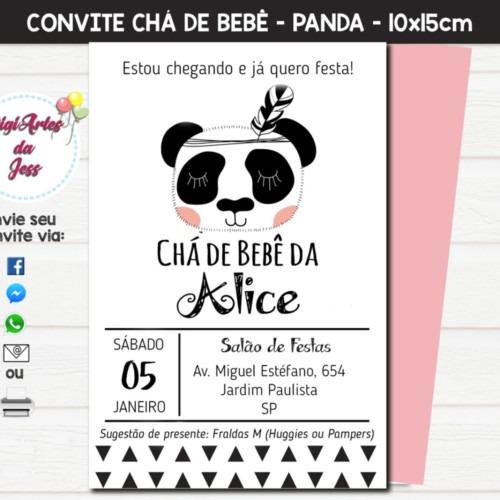 Convite Digital Chá De Bebê Fraldas