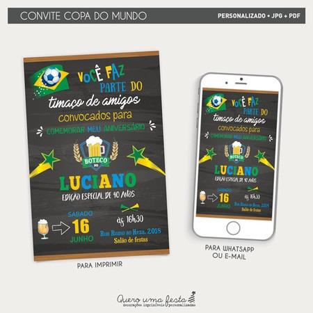 Convite Copa 2018