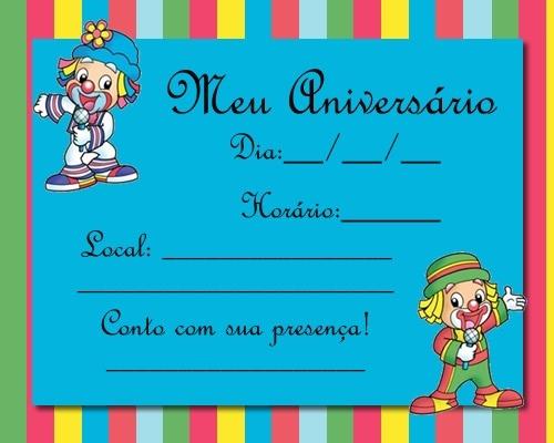 Impressao De Kit Infantil De Aniversario