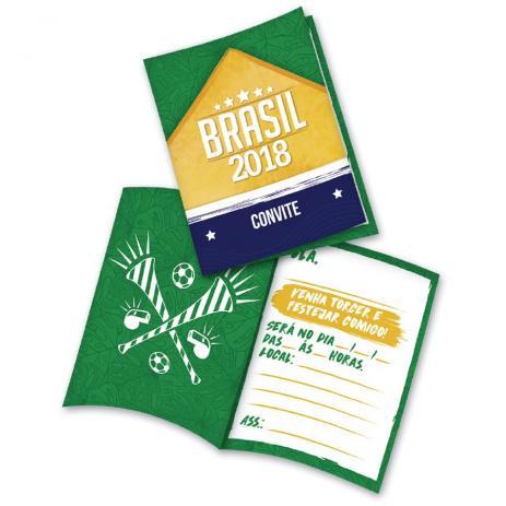 Convite Brasil Copa Do Mundo 2018